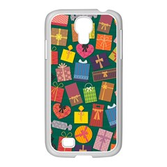 Presents Gifts Background Colorful Samsung Galaxy S4 I9500/ I9505 Case (white)