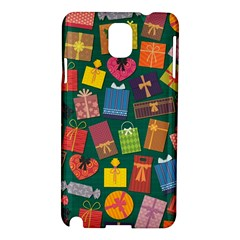 Presents Gifts Background Colorful Samsung Galaxy Note 3 N9005 Hardshell Case