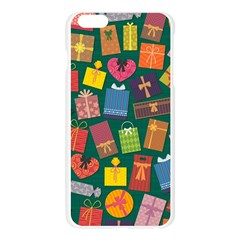 Presents Gifts Background Colorful Apple Seamless iPhone 6 Plus/6S Plus Case (Transparent)
