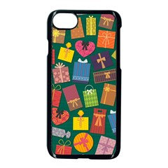 Presents Gifts Background Colorful Apple Iphone 7 Seamless Case (black)