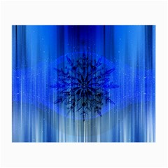 Background Christmas Star Small Glasses Cloth
