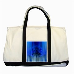 Background Christmas Star Two Tone Tote Bag