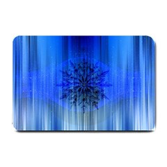 Background Christmas Star Small Doormat