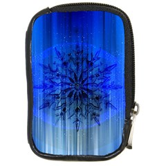 Background Christmas Star Compact Camera Cases