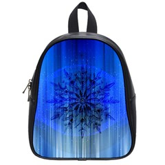 Background Christmas Star School Bags (small)