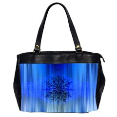 Background Christmas Star Office Handbags (2 Sides)