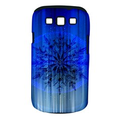 Background Christmas Star Samsung Galaxy S Iii Classic Hardshell Case (pc+silicone)