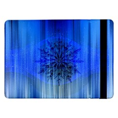 Background Christmas Star Samsung Galaxy Tab Pro 12 2  Flip Case