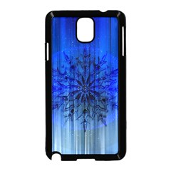 Background Christmas Star Samsung Galaxy Note 3 Neo Hardshell Case (black)