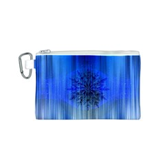 Background Christmas Star Canvas Cosmetic Bag (s)