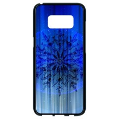 Background Christmas Star Samsung Galaxy S8 Black Seamless Case