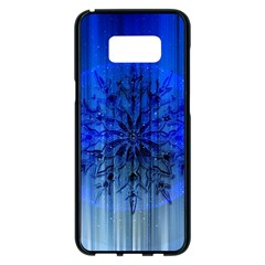 Background Christmas Star Samsung Galaxy S8 Plus Black Seamless Case