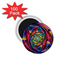 Eye of the Rainbow 1.75  Magnets (100 pack)