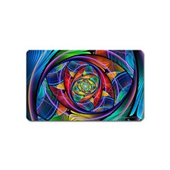 Eye of the Rainbow Magnet (Name Card)