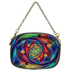 Eye of the Rainbow Chain Purses (Two Sides)