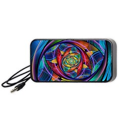 Eye of the Rainbow Portable Speaker (Black)
