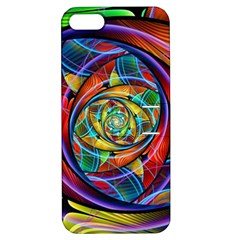 Eye of the Rainbow Apple iPhone 5 Hardshell Case with Stand