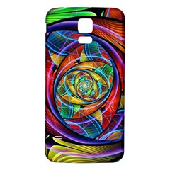 Eye of the Rainbow Samsung Galaxy S5 Back Case (White)