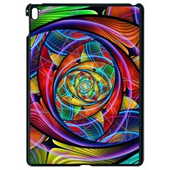 Eye Of The Rainbow Apple Ipad Pro 9 7   Black Seamless Case