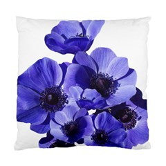 Poppy Blossom Bloom Summer Standard Cushion Case (two Sides)