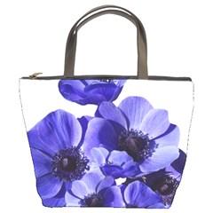 Poppy Blossom Bloom Summer Bucket Bags
