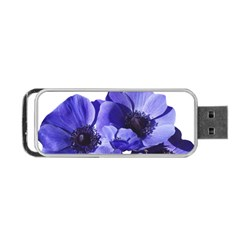 Poppy Blossom Bloom Summer Portable Usb Flash (two Sides)