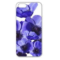 Poppy Blossom Bloom Summer Apple Seamless iPhone 5 Case (Clear)