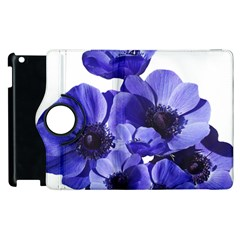 Poppy Blossom Bloom Summer Apple Ipad 3/4 Flip 360 Case