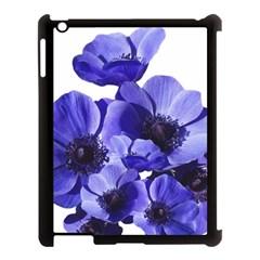 Poppy Blossom Bloom Summer Apple Ipad 3/4 Case (black)