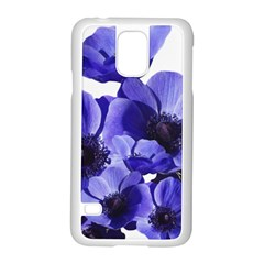 Poppy Blossom Bloom Summer Samsung Galaxy S5 Case (white)