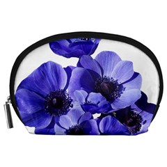 Poppy Blossom Bloom Summer Accessory Pouches (large)