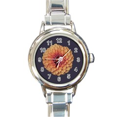 Art Beautiful Bloom Blossom Bright Round Italian Charm Watch