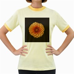 Art Beautiful Bloom Blossom Bright Women s Fitted Ringer T Shirts