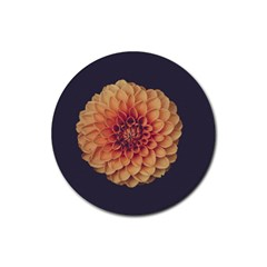 Art Beautiful Bloom Blossom Bright Rubber Coaster (round)