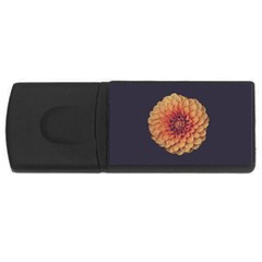Art Beautiful Bloom Blossom Bright Usb Flash Drive Rectangular (4 Gb)