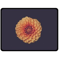 Art Beautiful Bloom Blossom Bright Fleece Blanket (large)