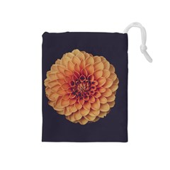 Art Beautiful Bloom Blossom Bright Drawstring Pouches (medium)