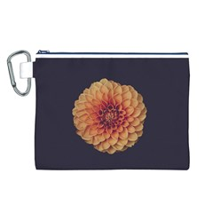Art Beautiful Bloom Blossom Bright Canvas Cosmetic Bag (l)