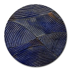 Textures Sea Blue Water Ocean Round Mousepads