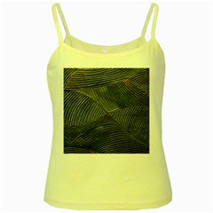 Textures Sea Blue Water Ocean Yellow Spaghetti Tank