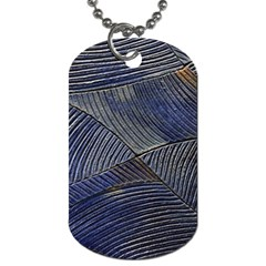 Textures Sea Blue Water Ocean Dog Tag (two Sides)