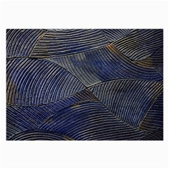 Textures Sea Blue Water Ocean Large Glasses Cloth (2-Side)