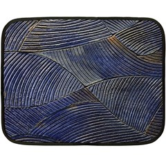 Textures Sea Blue Water Ocean Fleece Blanket (mini)