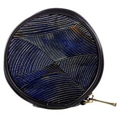 Textures Sea Blue Water Ocean Mini Makeup Bags