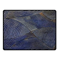 Textures Sea Blue Water Ocean Fleece Blanket (small)