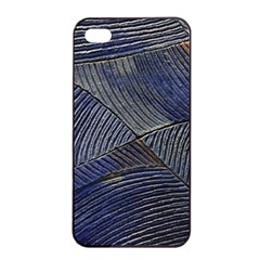 Textures Sea Blue Water Ocean Apple Iphone 4/4s Seamless Case (black)