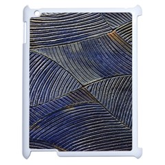 Textures Sea Blue Water Ocean Apple Ipad 2 Case (white)