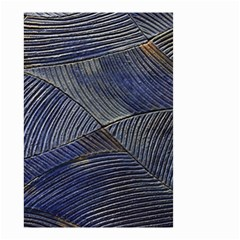 Textures Sea Blue Water Ocean Small Garden Flag (Two Sides)