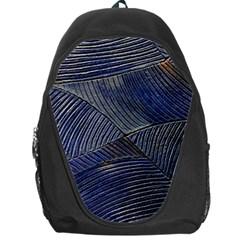 Textures Sea Blue Water Ocean Backpack Bag