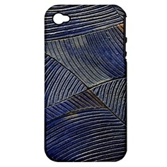 Textures Sea Blue Water Ocean Apple Iphone 4/4s Hardshell Case (pc+silicone)